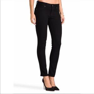 DL1961 black Emma leggings jeans. Size 25